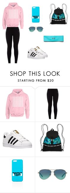 """Summer Outfit"" by jazmine-1222 ❤ liked on Polyvore featuring adidas, Tiffany & Co., Under Armour, women's clothing, women, female, woman, misses and juniors"