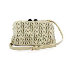 I love the Street Level Ruched Vintage Shoulder Bag from LittleBlackBag