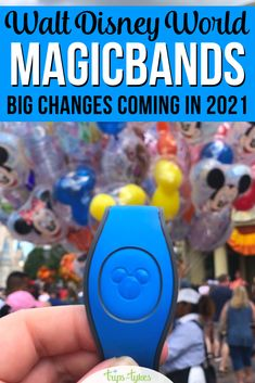 Some changes are coming to Disney's MagicBands in 2021! Here's everything you need to know about how Magic Bands work at Walt Disney World for things like Fastpass+, room charging privileges, park tickets and more. Plus all the changes you might not know about. Disney World Tickets, Walt Disney World Vacations, Disney Tips, Disney Food, Blizzard Beach, Disney Resort Hotels, Disney Vacation Planning, Magic Bands, Tokyo Disneyland