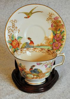 Sutherland Bone China Teacup and  Saucer!