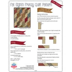 Free Fat Eighth Bundle Quilt Patterns Quilting For Beginners, Quilting Tips, Quilting Tutorials, Quilting Fabric, Jelly Roll Quilt Patterns, Quilt Block Patterns, Quilt Blocks, Fat Quarter Quilt, Fat Quarter Shop