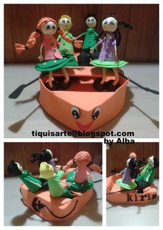 TiquisArte: Fofucho Birthday Cake, Desserts, Food, Tailgate Desserts, Deserts, Birthday Cakes, Essen, Postres, Meals