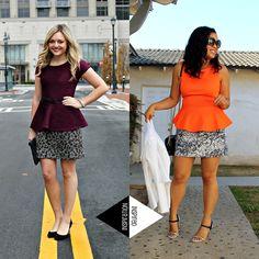 Style Me Friday: Peplum | The Fashionista Next Door