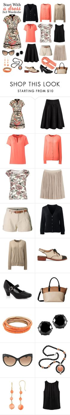 Start with a Dress by gwethril on Polyvore featuring мода, Yumi, Lands' End, Dorothy Perkins, WithChic, Monki, LE3NO, Rasolli, Sam Edelman and Kate Spade
