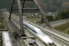 Japan's Maglev Train Hits World Record 590 Kilometers Per Hour - WSJ