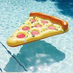 pizza pool float Pizza só se for assim...