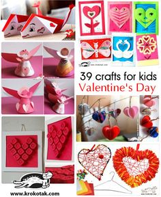 Valentine's Day Crafts for Kids collection