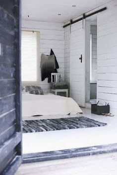 White Scandinavian interior on Gotland Island Home Bedroom, Bedroom Decor, Bedrooms, Nordic Bedroom, Light Bedroom, Bedroom Designs, Wooden Sliding Doors, Interior Design Photography, Interior Styling