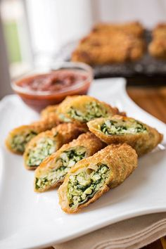Spinach Chicken Egg Rolls