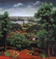 Landscape - Ivan Generalic