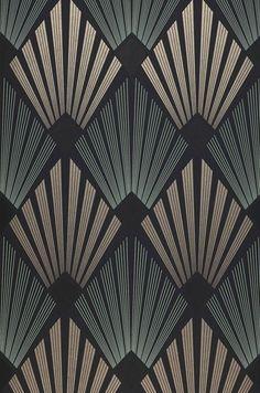 look Wallpaper Pontinius (Anthracite, Pearl beige, Black, Silky grey) Wallpaper Art Deco, Look Wallpaper, Designer Wallpaper, Pattern Wallpaper, Wallpaper Designs, Arte Art Deco, Moda Art Deco, Estilo Art Deco, Art Deco Print
