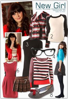 There aren't many people I would like to be for the day, but Zooey Deschanel is definitely one of them!