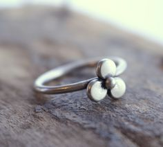 A personal favorite from my Etsy shop https://www.etsy.com/listing/239177351/sterling-silver-stackable-stacking-ring