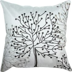 The Tree Toss Cushion from Urban Barn is a unique home décor item. Urban Barn carries a variety of Pillows and other  products furnishings.