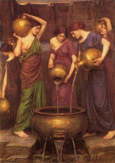 John Waterhouse - The Danaïdes (1904)