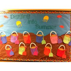 summer bulletin board idea  |   Crafts and Worksheets for Preschool,Toddler and Kindergarten