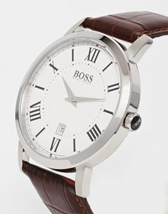 Beautiful Hugo Boss Leather Strap Watches