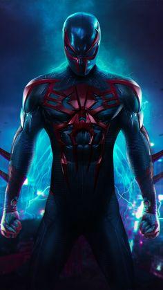 Spider-Man 2099 Wallpaper - iPhone X
