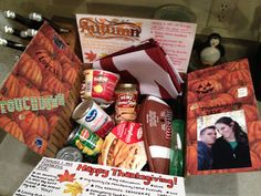 Thanksgiving/Football Deployment Care Package Ideas