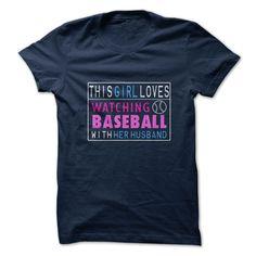 This Girl Loves Watching Baseball T-Shirt