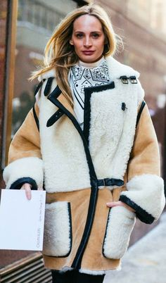 Despite a snowy (read: blizzard-y) start in New York, fashion month is in full swing—which means street-style looks are as abundant as snowflakes. Take a look!