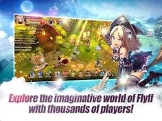 Prepare to get immersed in a stunning MMO RPG world of magic!