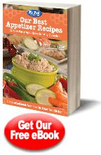 Free eCookbook from Mr. Food ~ Our Best Appetizer Recipes: 32 Easy Party Appetizers for Any Occasion