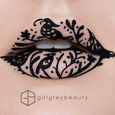 Pin for Later: Ja, mit Lippenstift kann man echte Kunstwerke kreieren