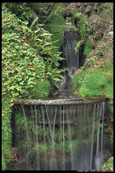 Powerscourt. South of Dublin, Ireland.  This is just beautiful and so relaxing.