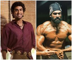 Vivegam ajiths six pack abs leave rana daggubati dhanush inspired rana daggubati transformed from layman to he man for ss rajamoulis baahubali heres proof fansnstars altavistaventures Image collections