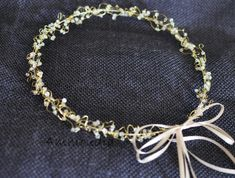 StefanaFairytale wedding wreaths  with swarovski by AMMOUDIA, $110.00
