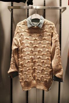 lovely knit sweater@현대백화점