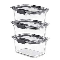 Glass Containers With Lids, Plastic Food Containers, Food Storage Containers, Fridge Storage, Fridge Organization, Container Organization, Easy Storage, Glass Food Storage, Safe Glass