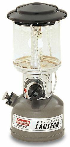 Λάμπα Θυέλλης Αμόλυβδης Βενζίνης Coleman Compact | www.lightgear.gr
