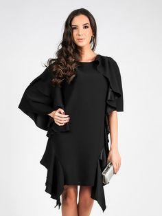 Φόρεμα CARLA BY ROZARANCIO #dress #black_dress #little_black_dress #cocktail_dress #women_fashion #dress_fashion