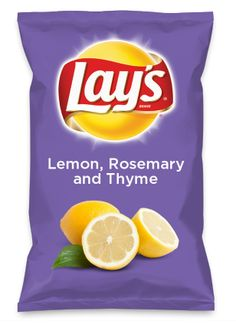 Wouldn't Lemon, Rosemary and Thyme be yummy as a chip? Lay's Do Us A Flavor is back, and the search is on for the yummiest flavor idea. Create a flavor, choose a chip and you could win $1 million! https://www.dousaflavor.com See Rules.