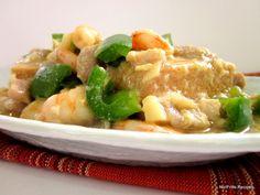 Braised Beancurd ~ Tofu Tofu Recipes, Asian Recipes, Real Food Recipes, Ethnic Recipes, Tasty Dishes, Side Dishes, Tofu Dishes, Pork Fillet