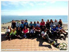 Descansando en el carril de la #Universidad #Almeria   #patines #patina #patinalmeria #roller #sol #mar #niños #infantil #iniciacion