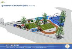 Idee natuurlijk schoolplein