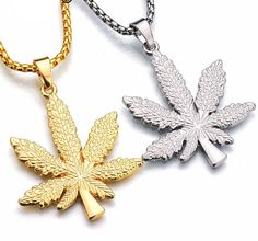 """10/"""" Necklace Jewelry Weed Cannabis Pendant Ganja Leaf LIGHT Green Black Rope"""