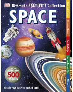 Buy Space Ultimate Factivity Collection by DK at Mighty Ape NZ. In DK's unique activity collection kids explore space with the ultimate blend of facts and fun. Perfect for keeping little hands busy during rainy day. Every Day Book, This Book, Create Your Own Book, Life Under The Sea, National Geographic Kids, Coding For Kids, Electronic Gifts, Lego City, Book Activities