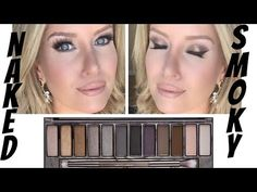 Urban Decay Naked Smoky Tutorial| Simple and great for hooded eyes!! - YouTube