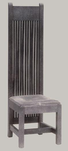 Frank Lloyd Wright: Side chair (1978.189) | Heilbrunn Timeline of Art History | The Metropolitan Museum of Art  #GISSLER #interiordesign