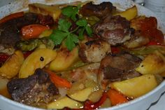 Lammfleisch mit Kartoffeln - Patatesli Kuzu Eti