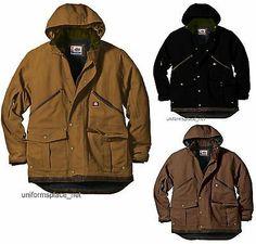 Mens DICKIES Sanded Duck Coat Jacket New TIMBER L - 3XT