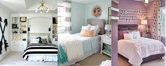 Three Teenager Bedrooms