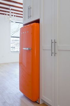screw stainless steel appliances, I need this.  Retro+Modern