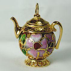 Tiny Teapot Jewelry