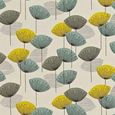 Lakástextil - függöny és bútorszövet | Sanderson textil | Dandelion Clocks textil