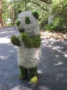 Topiary Forms | Custom Panda